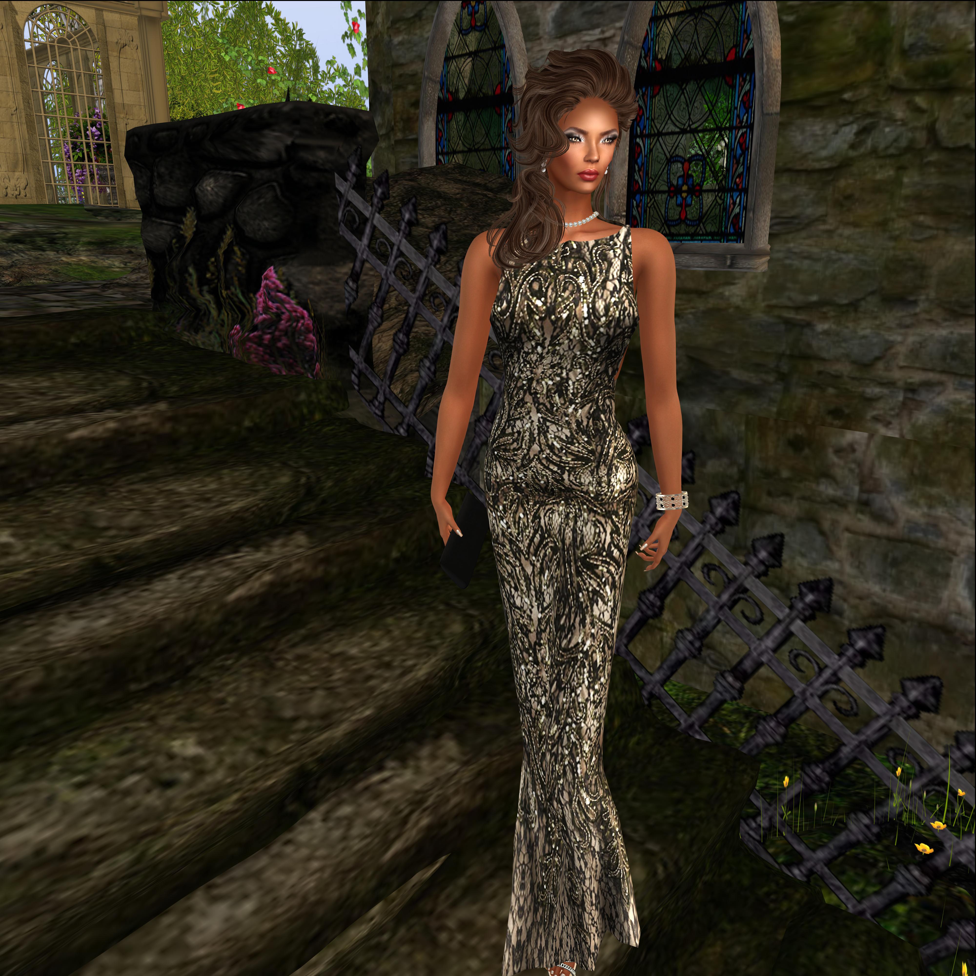 Legendaire @ Designer Showcase- Love Yourself Gown and Heels