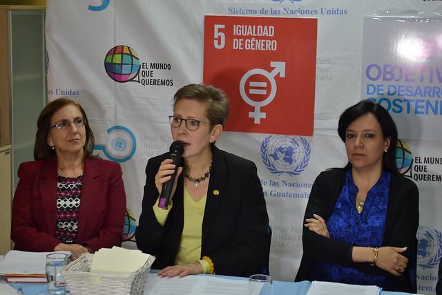 Conferencia de prensa día de la mujer