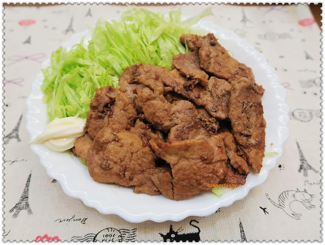 160314《海鷗食堂》的薑燒豬肉-01