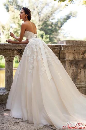Salon de Mariaj Cocos-Tot luxul și eleganța modei de nuntă într-un singur loc! > Actuală și trendy! Rochia de mireasă SABRINA de la MillaNova