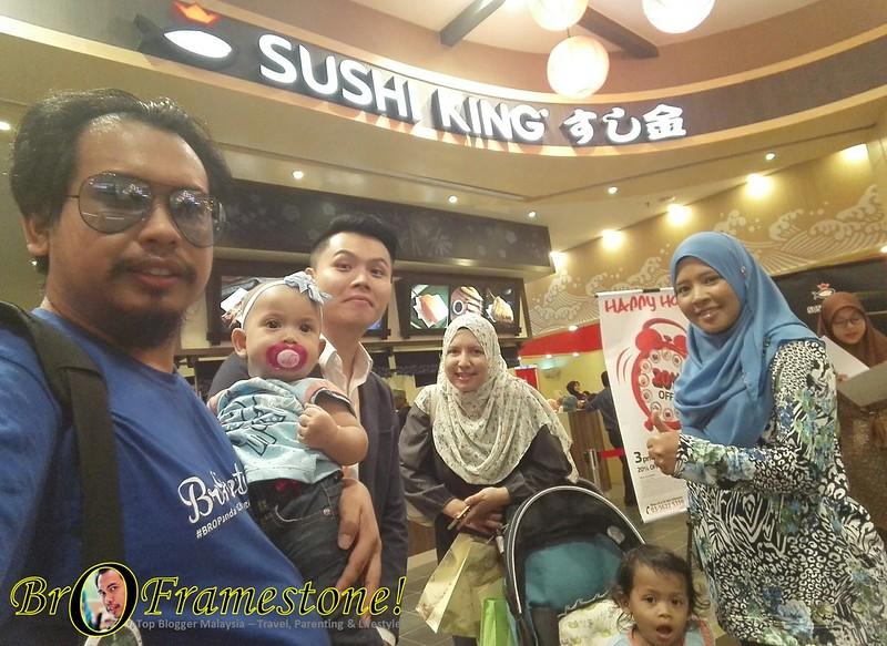 Perasmian cawangan Sushi King ke-100 di AEON Mall, Shah Alam