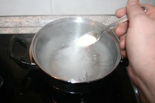 42 - Wasser salzen / Salt water
