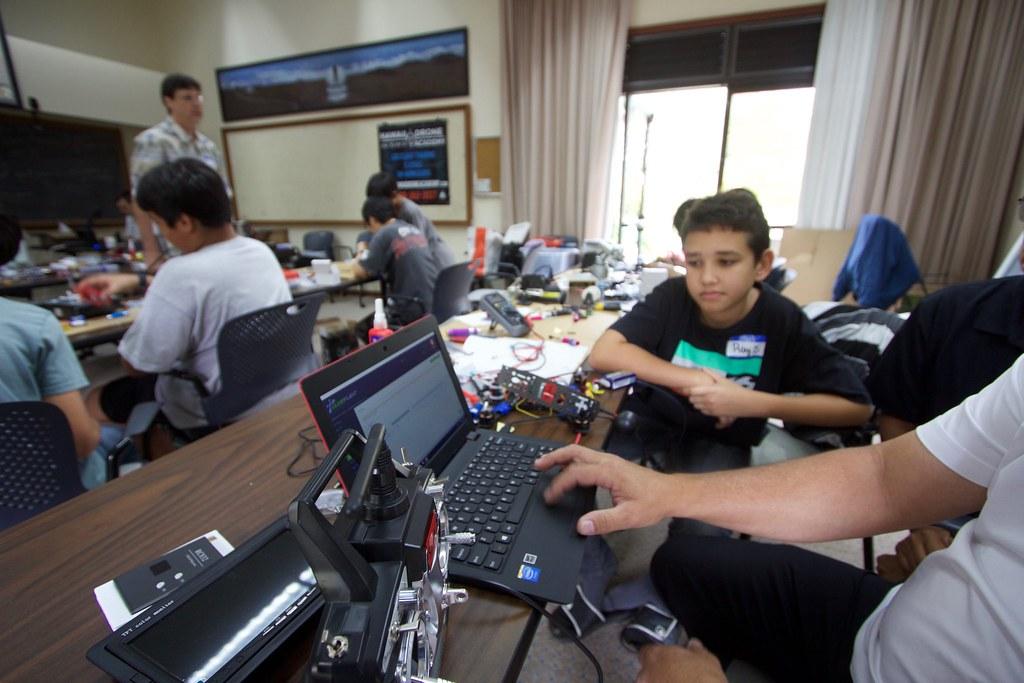 DIY Drone Workshop | Our middle school program building raci