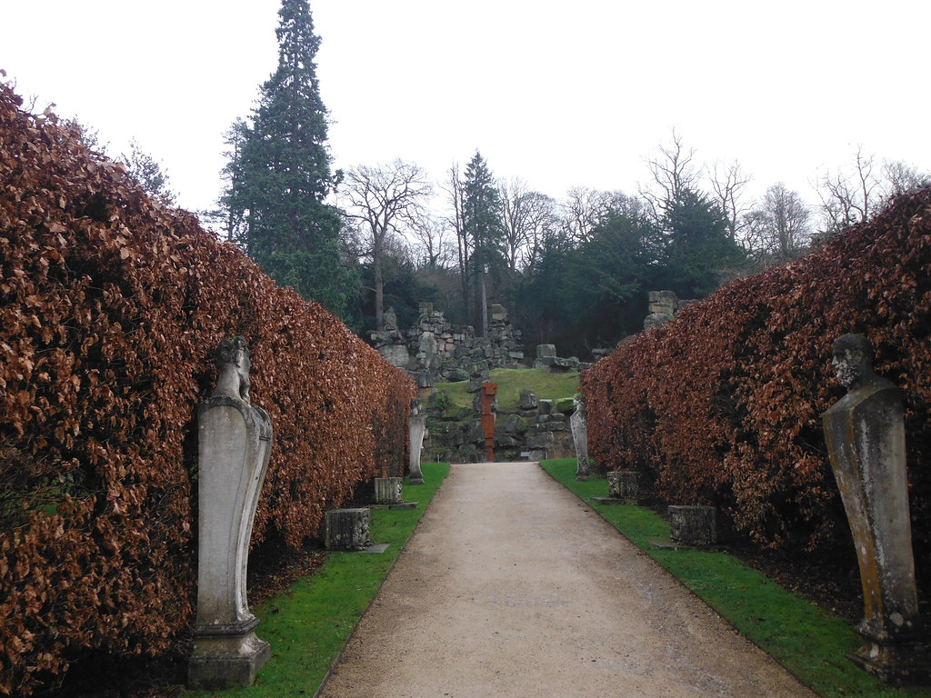 Chatsworth House Rock Garden 1
