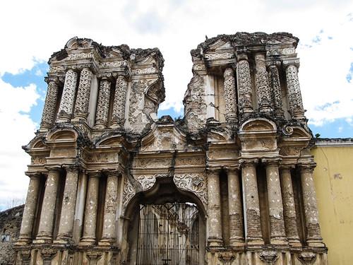 Antigua: église El Carmen