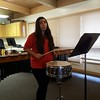 Getting ready for snare drum judging at PSU. #mcr1