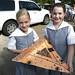 Mini Artcar Pizza Shaped by Paul McRae (Delta Niner)