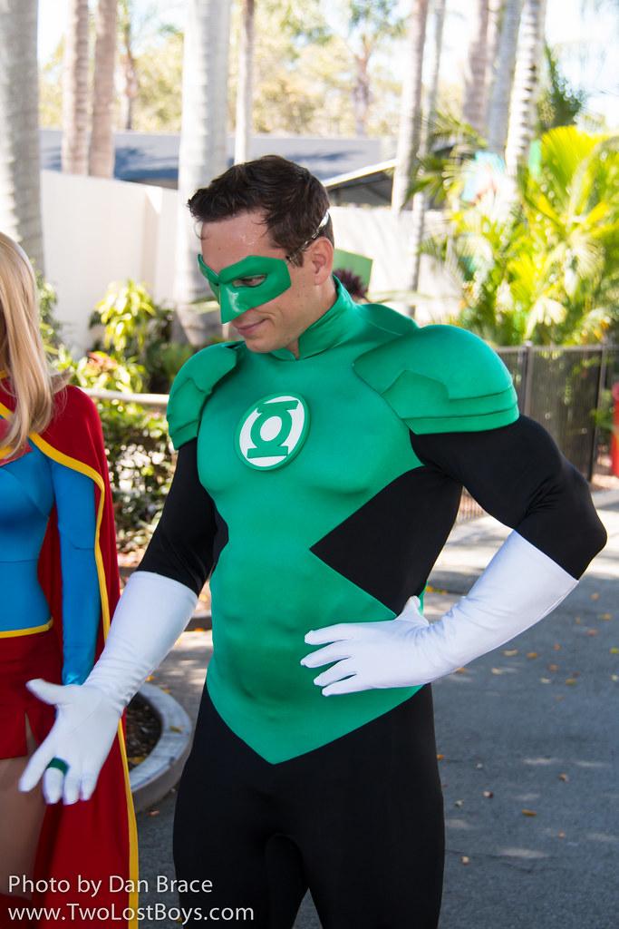 Green Disney Characters Green Lantern a...