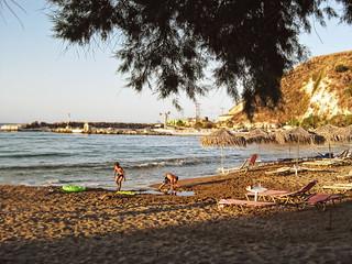 Image de Kalyves. beach greece kalives