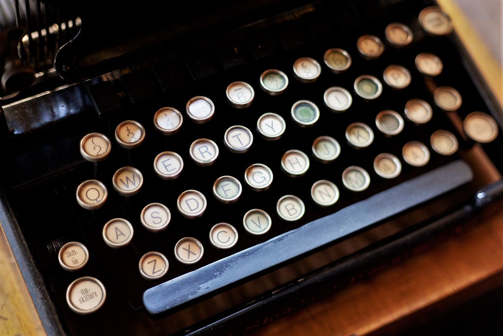 Trusty Remington typewriter