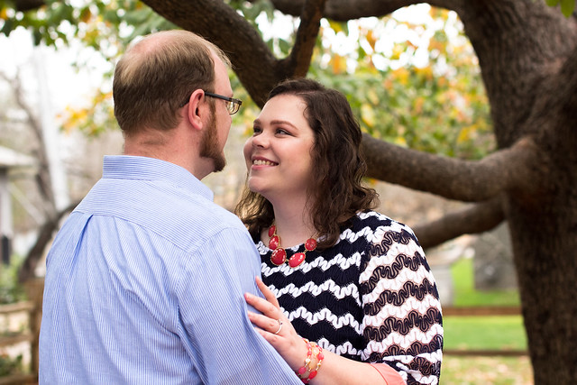 katie and jacob engagement gruene texas