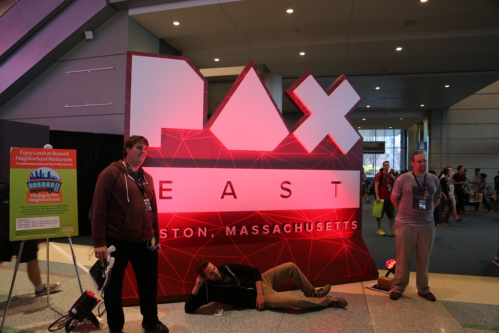 Pax East 2016 - DarkSideRob Cam - Day 1