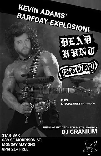 5/2/16 DeadHunt/Franky