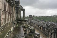 Angkor Wat in the rain