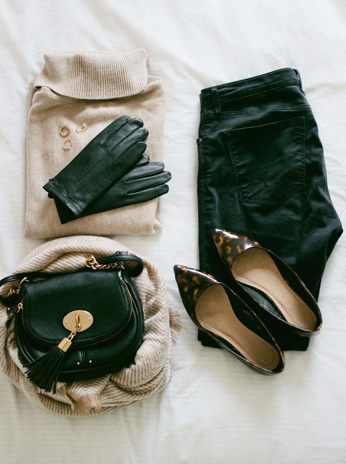 {simplified wardrobe} via chevrons & éclairs