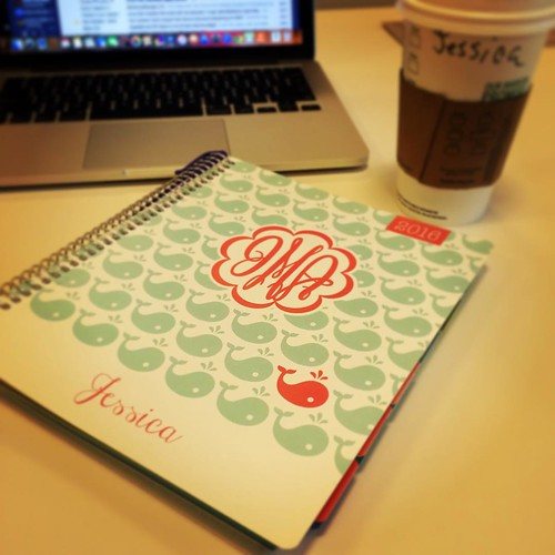 New year, new planner. Bring it on 2016!