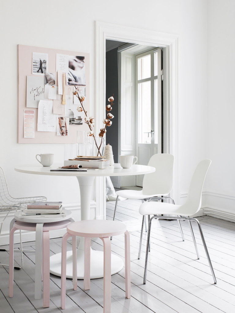 Rose Quartz Inspired Ikea Decor