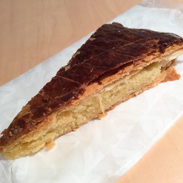 Slice of Galette des Rois