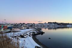 Hafrsfjord dawn