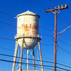 Mill Water Tower. Belmont NC. #doncolinphotographs