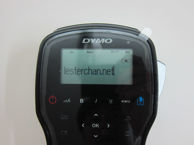DYMO LabelManager 280 - LCD Display