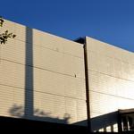 Sign of a modern Preston building