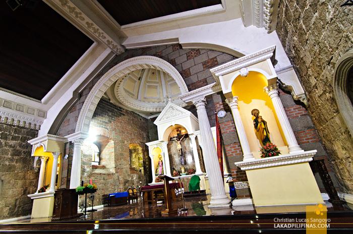 St. Dominic Church Abucay Bataan Interiors