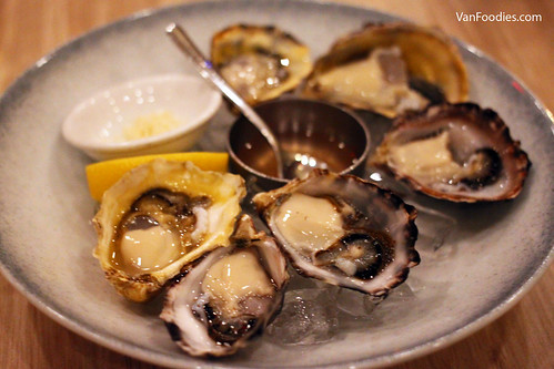 half dozen west coast oyster