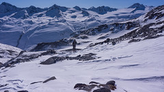 Dojście do lodowca Kesselwandferner