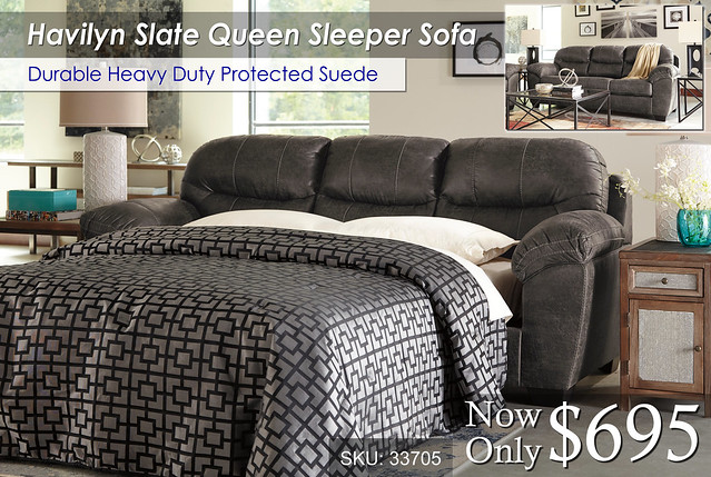 Havilyn Slate Queen Sleeper
