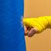 Yellow hits Blue