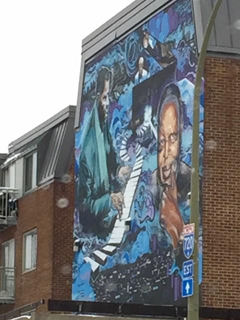 Oscar Peterson Mural