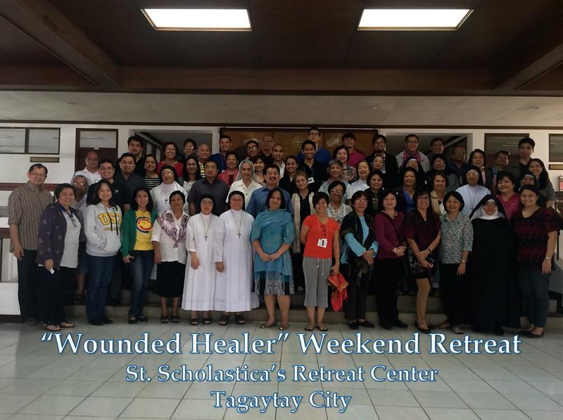Weekend Retreat in Tagaytay, Philippines  Feb. 12-14, 2016