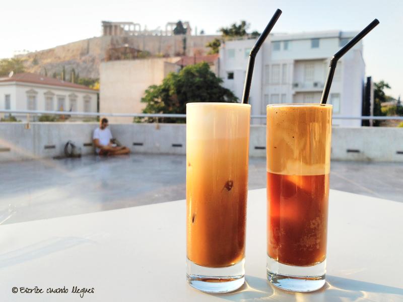 Bebidas griegas: Café frappe