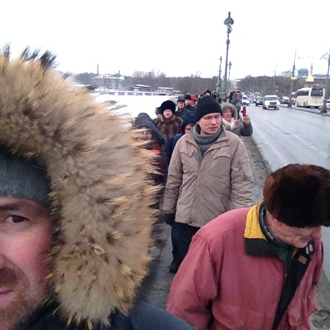 Nemtsov marche, St Petersburg