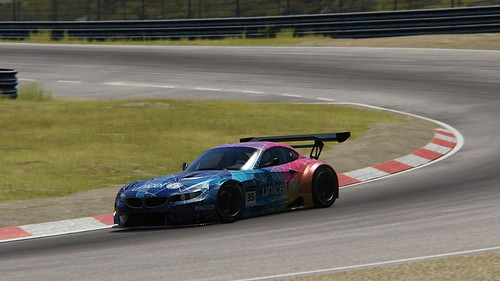 BMW Z4 GT3 - fantasy skin - Unicef - Andy Gilmore - Assetto Corsa