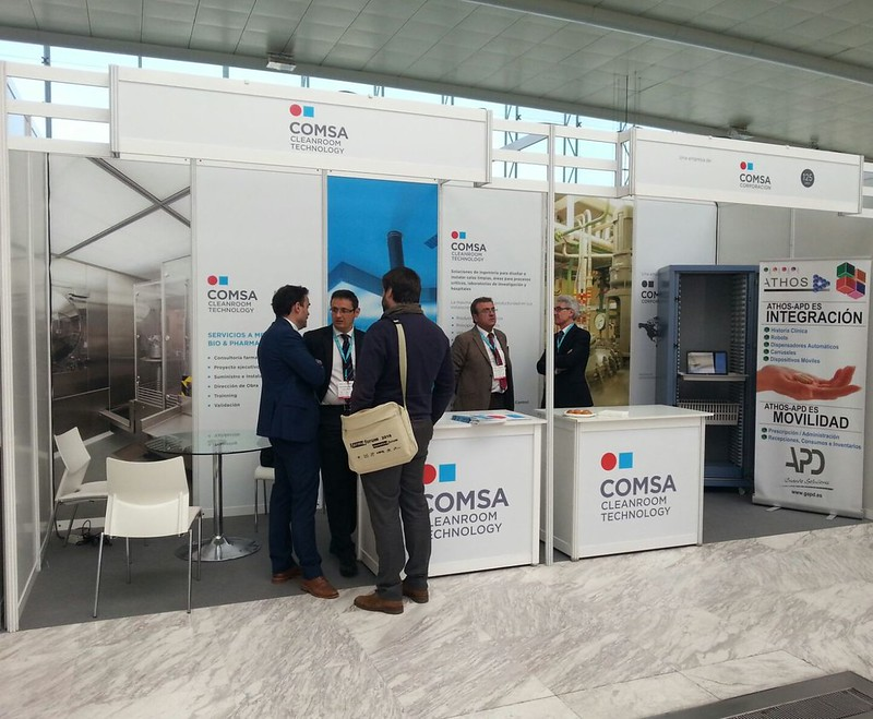 COMSA Cleanroom Technology presenta sus novedades en FarmaForum
