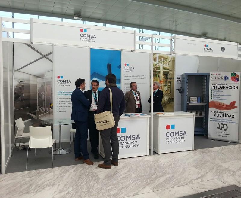 COMSA Cleanroom Technology presenta sus novedades en FarmaForum