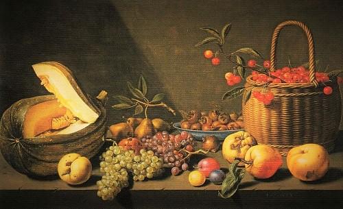 果物のある静物