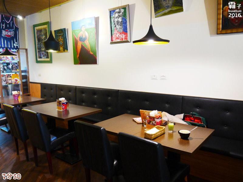 25184908743 052e6986ab b - 7分SO美式廚房(朝富店),最愛的是美式蛋捲,早餐還有附上一杯滿滿果肉的奇異果汁。