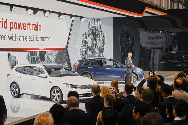 Motorshow van Genève 2016