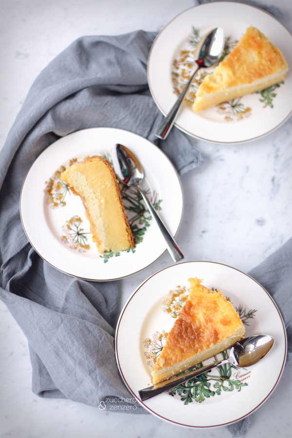 Torta (magica) di farina gialla