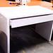 Brand new white laminate desk