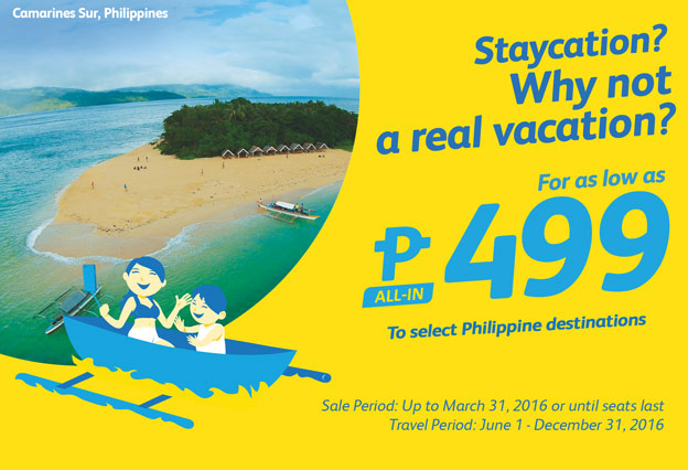 Cebu Pacific Promo March 29 2016