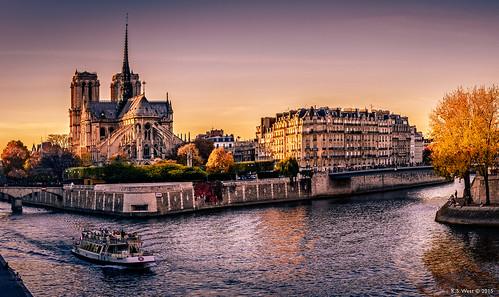 Golden Hour, Paris, 2015