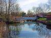 Upstream Of The The Mereway Weir On The River Crane, Twickenham - London.