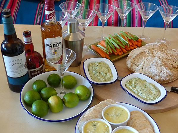 préparation du cocktail