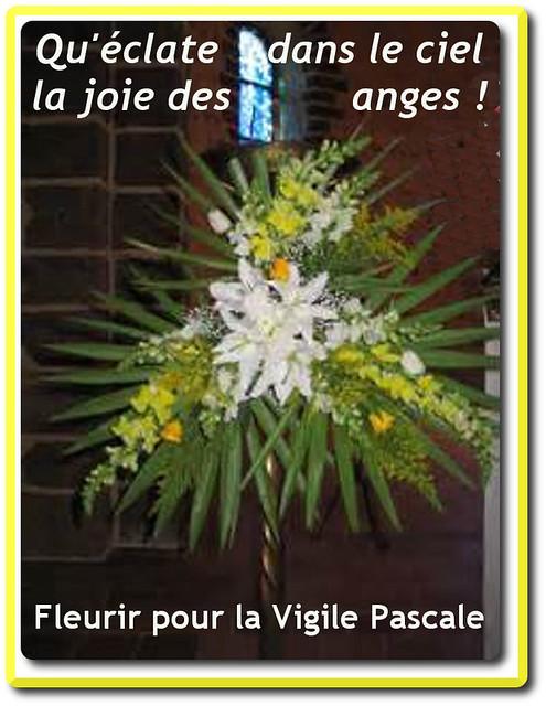 Fleurir pour la Vigile Pascale