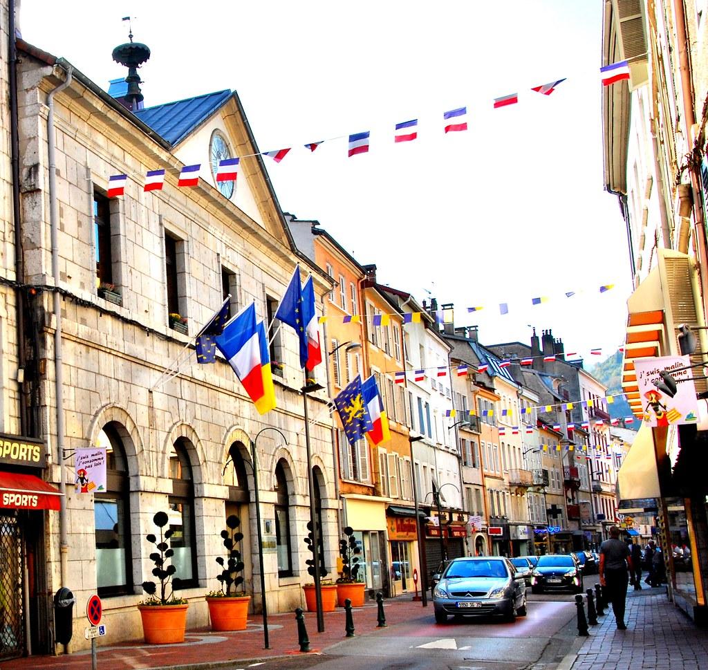 Hotel Du Jura Saint Claude