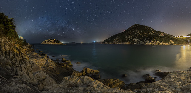 Shek O Night Pano